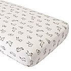 Organic Bunny Crib Fitted Sheet
