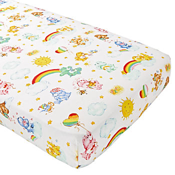 Care Bears Organic Crib Fitted Sheet