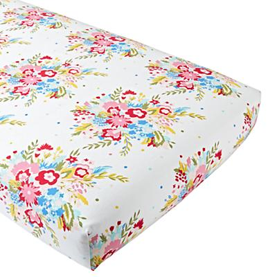 Crib_Sheet_Flannel_Floral_Pink_Silo
