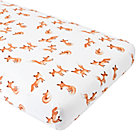 Organic Fox Crib Fitted Sheet