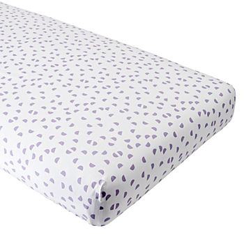 Organic Half Moon Crib Fitted Sheet