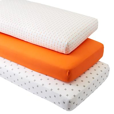 Crib_Sheet_Set_Iconic_Arrow_Orange