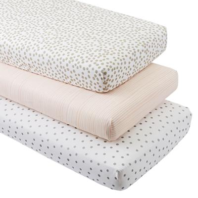 Mod Botanical Crib Fitted Sheets (Set of 3)