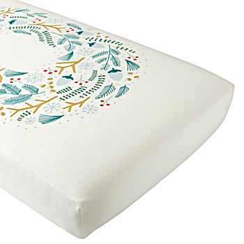 Organic Winter Nest Crib Fitted Sheet