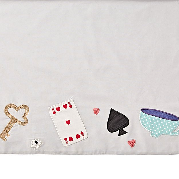 Wonderland Crib Skirt