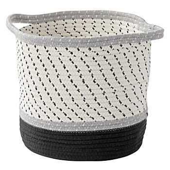 Grey Rope Storage Basket