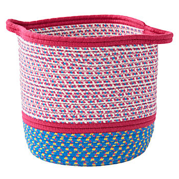 Pink Rope Storage Basket