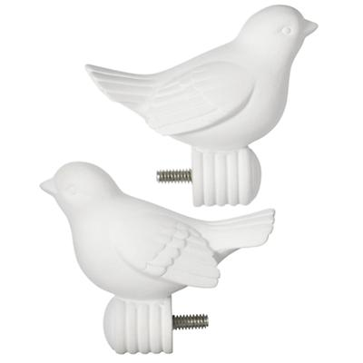 Bird Finials (Set of 2)