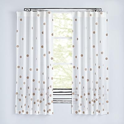 "Bronze Dot 96"" Curtain"