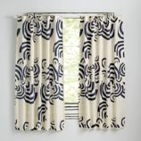 Cloudscape Navy Curtains