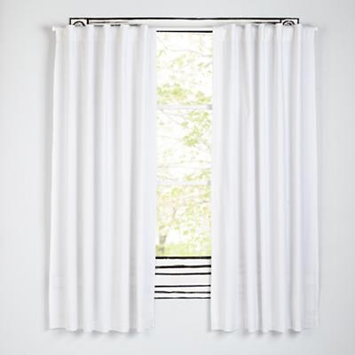 "Early Edition Black Dot 63"" Curtain"