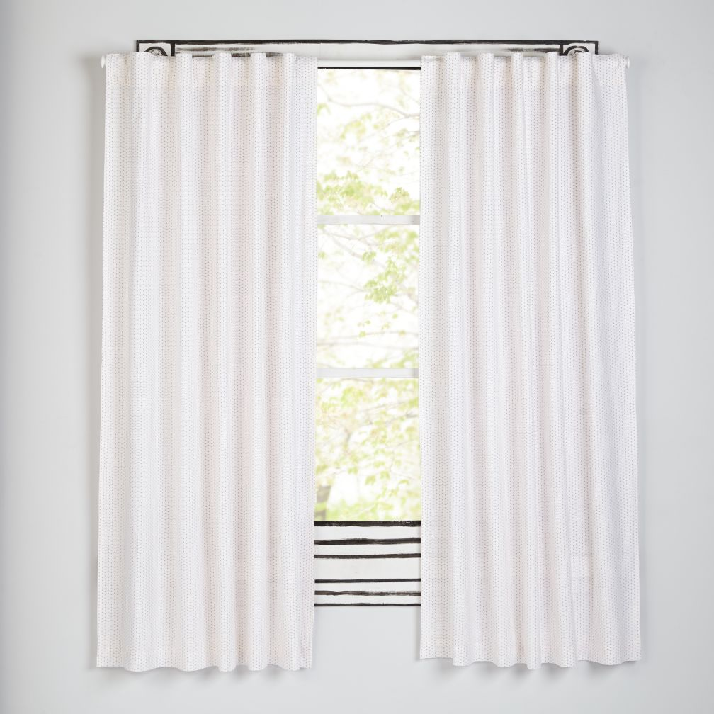 "Early Edition Pink Dot 84"" Curtain"