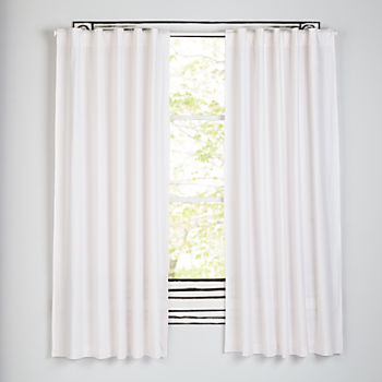 "Early Edition Pink Dot 96"" Curtain"