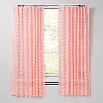 "Flora Essence 63"" Curtain"