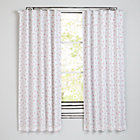 "Go Lightly Pink Triangle 63"" Blackout Curtain(Sold Individually)"