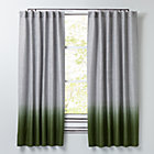 "Half Dipped Green 63"" Curtain(Sold Individually)"