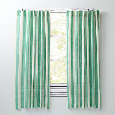"84"" Line Up Curtain (Green)"