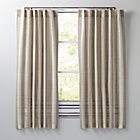 "Line Up Grey 84"" Curtain(Sold Individually)"