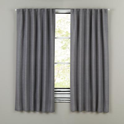 "63"" Fresh Linen Curtain (Grey)"