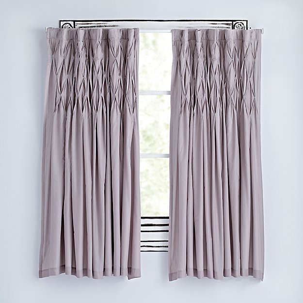"Modern Chic Grey 84"" Curtain"