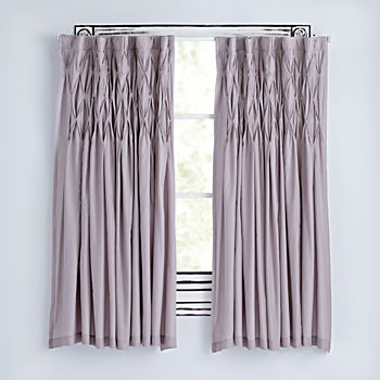 "Modern Chic Grey 63"" Curtain"