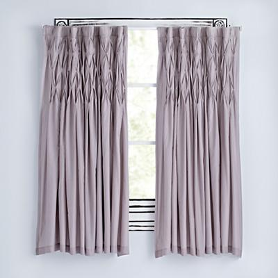 "Modern Chic Grey 96"" Curtain"