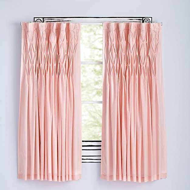 "Modern Chic Pink 84"" Curtain"