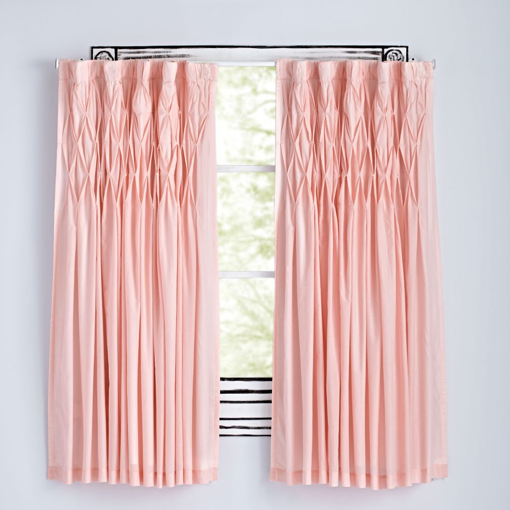 Modern Chic Pink Curtains