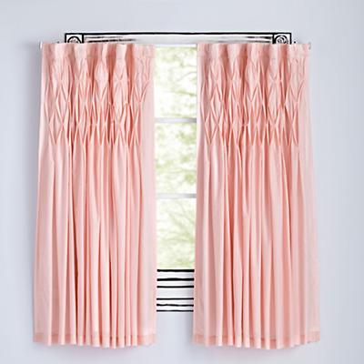 "Modern Chic Pink 96"" Curtain"