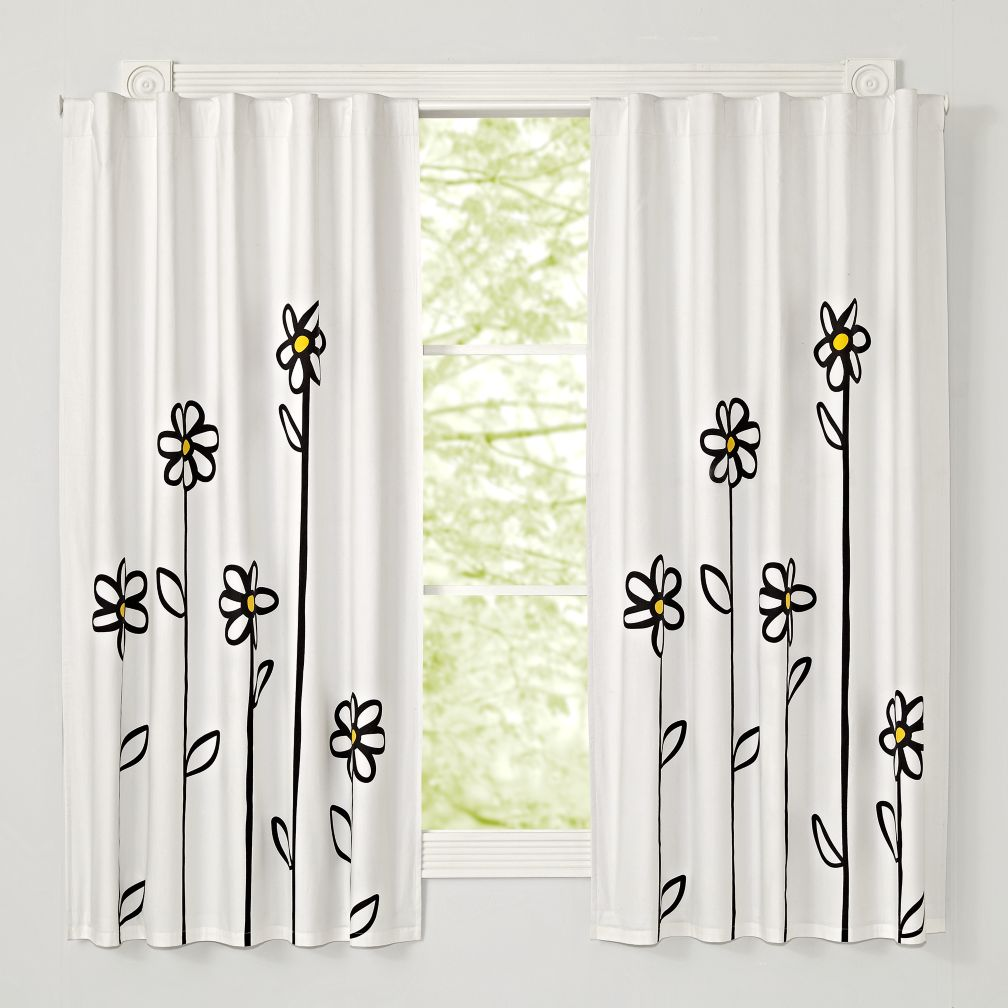 Daisy 63 Quot Blackout Curtain The Land Of Nod