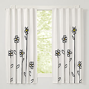 "Daisy 63"" Blackout Curtain"