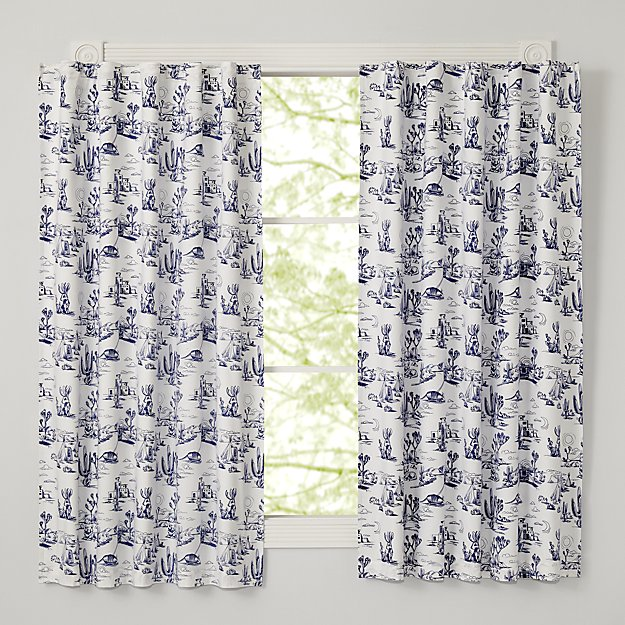 "Desert Flora 63"" Blackout Curtain"