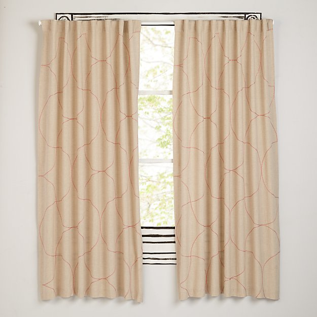 """Dash of Pink 84"""" Curtain"""