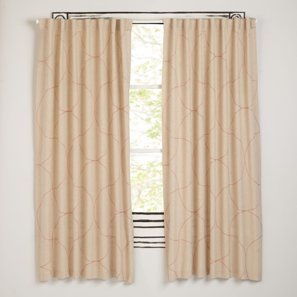 Dash of Pink Curtains