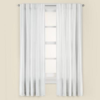 "63"" Pretty Pleats Curtain Panel"
