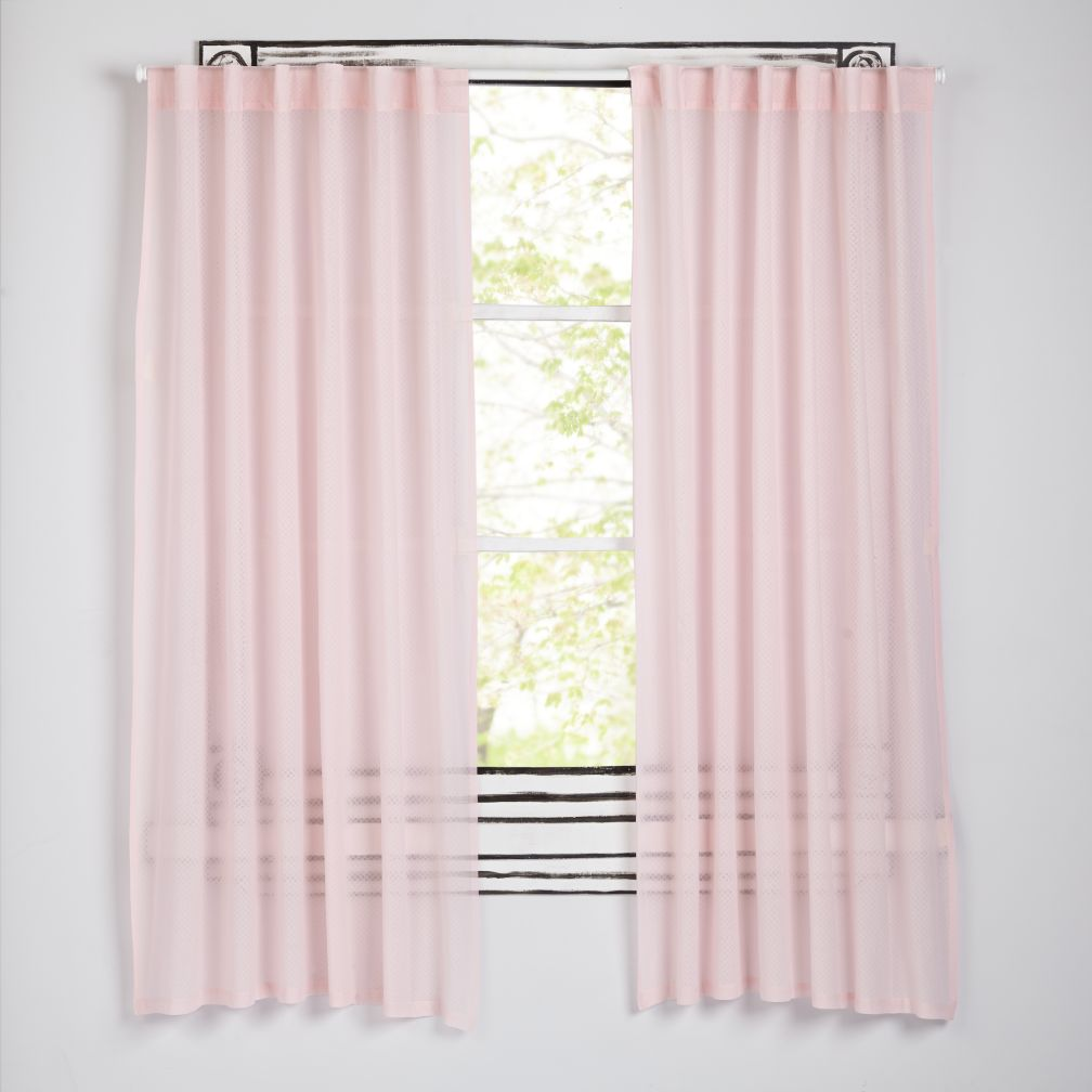 Ripple Pink Curtains