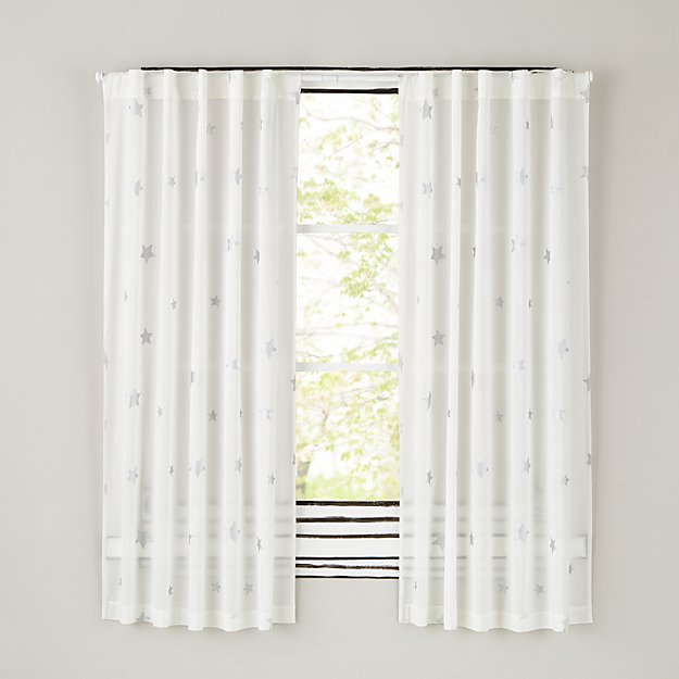 "Silver Star 96"" Curtain"