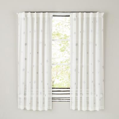 "Silver Star 84"" Curtain"