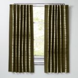 Tie-Dye Green Curtains