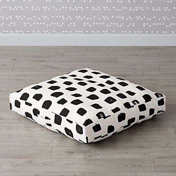 Painted Squares Teepee Floor Cushion
