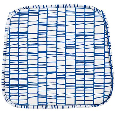 Modern Blue Parker Play Chair Cushion