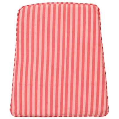 Pink Stripe Rocking Chair Cushion