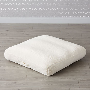 Faux Shearling Teepee Floor Cushion