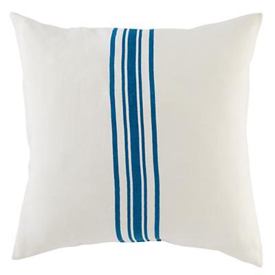 French Stripe Euro Sham Set