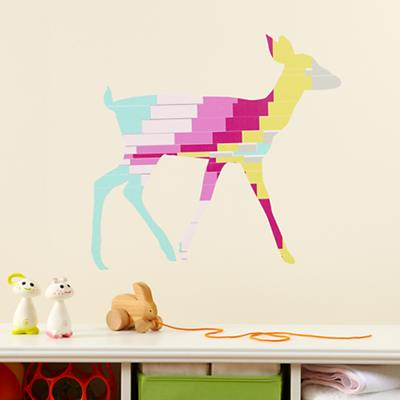 Deer Flashy Forest Decal