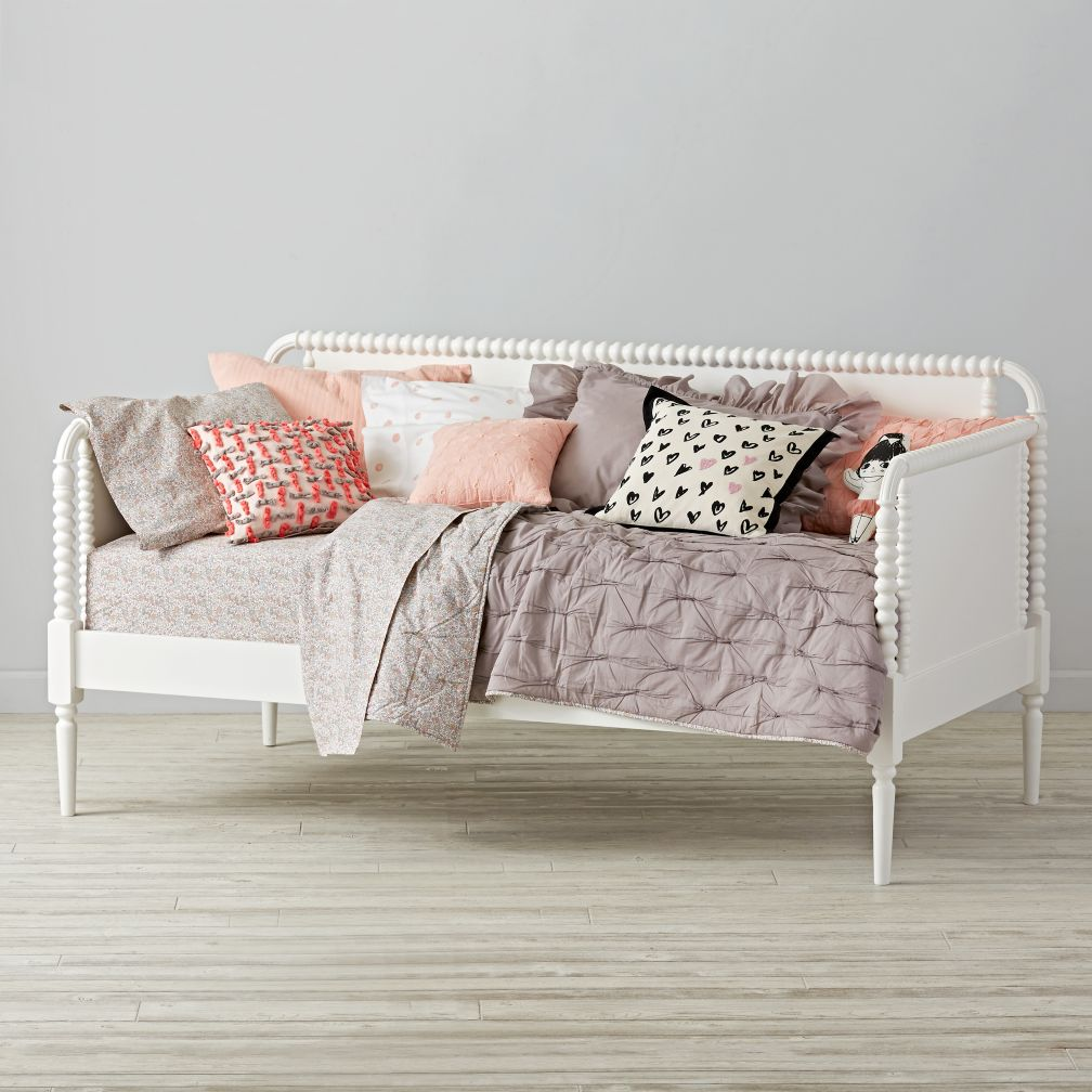 Jenny Lind Kids Daybed White The Land Of Nod