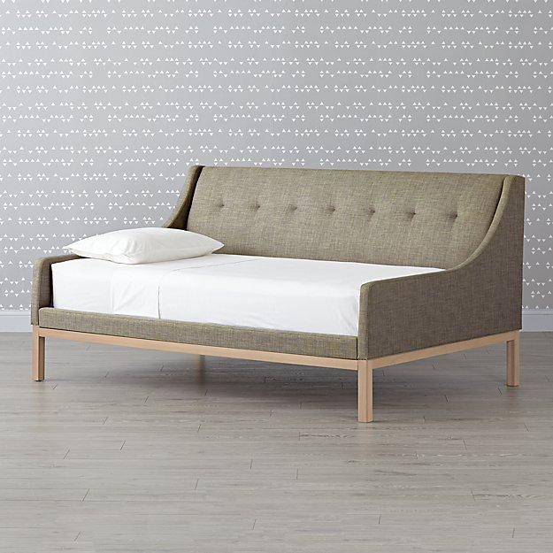 Gallery Grey Upholstered Daybed ...