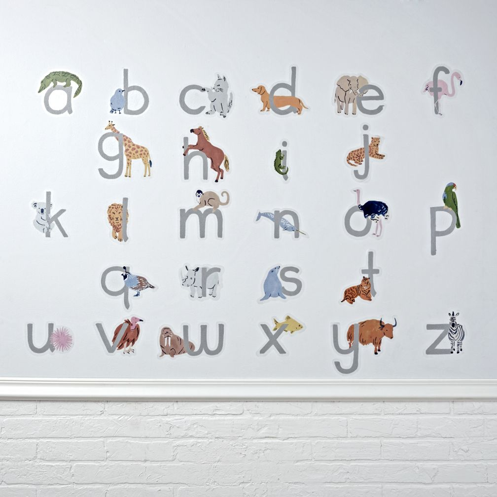 ABC Animals Decal