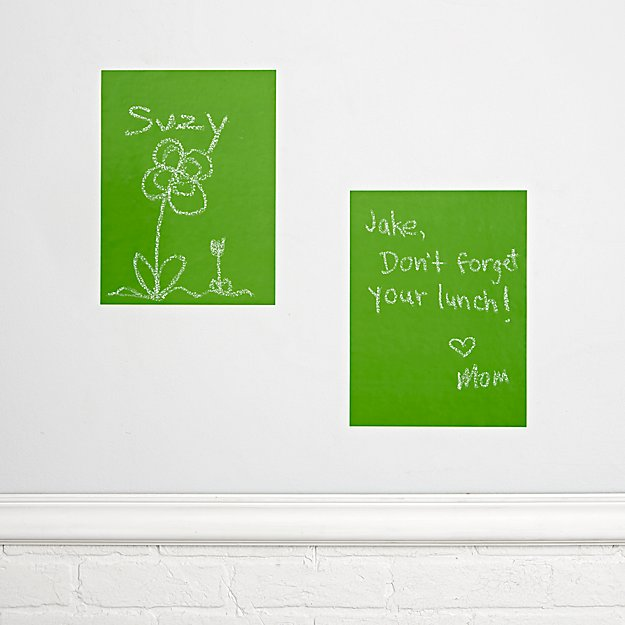 Chalkboard Green Decals (Set of 2)