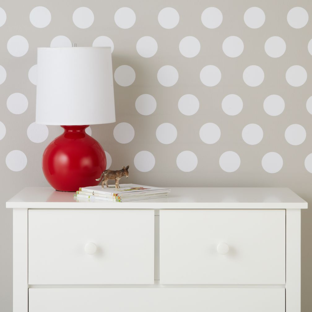Lottie Dots White Decal